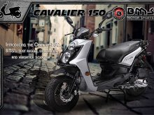 BMS-Cavalier 150 scooter