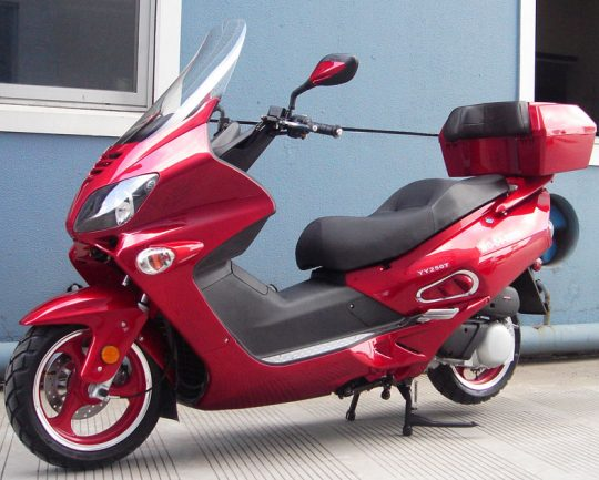 MC-54-250B 250cc Motor Scooters